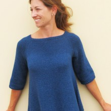 # 128 – Top Down Trapeze Pullover
